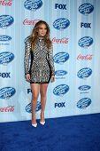 LOS ANGELES - JAN 14:  Jennifer Lopez at the American Idol Season 13 Premiere Screening at Royce Hall on January 14, 2014 in Westwood, CA