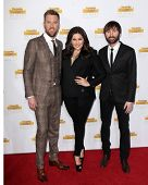 LOS ANGELES - JAN 14:  Charles Kelley, Hillary Scott, Dave Haywood at the 50th Anniversary Of Sports Illustrated Swimsuit Issue at Dolby Theater on January 14, 2014 in Los Angeles, CA