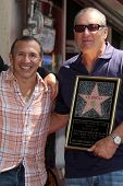 Ray Mancini, Ed O'Neill at the Ed O'Neill Hollywood Walk Of Fame Induction Ceremony, Hollywood, CA. 08-30-11