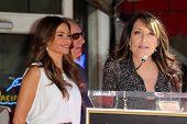 Sofia Vergara, Ed O'Neill, Katy Segal at the Ed O'Neill Hollywood Walk Of Fame Induction Ceremony, H