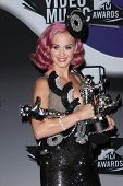 Katy Perry in the2011 MTV Video Music Awards Press Room, Nokia Theatre LA Live, Los Angeles, CA. 08-