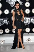 Selena Gomez at the 2011 MTV Video Music Awards Arrivals, Nokia Theatre LA Live, Los Angeles, CA 08-