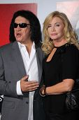 Gene Simmons, Shannon Tweed at the
