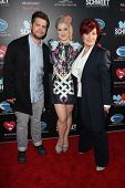 Jack Osbourne, Kelly Osbourne, Sharon Osbourne at the