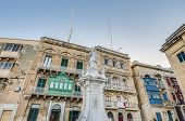Saint Lawrence At Vittoriosa Square In Birgu, Malta
