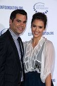 Cash Warren, Jessica Alba at the Clinton Foundation Gala in Honor of