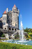 Canadian Landmark: Castle In Toronto