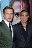 Ryan Gosling and George Clooney at the