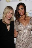 Natasha Bedingfield and Leona Lewis at An Evening With Leona Lewis And Friends Benefiting Hopefield Animal Sanctuary, Private Location, Beverly Hills, CA 11-19-11