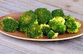 Crunchy Boiled Broccoli