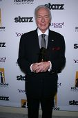 Christopher Plummer at the 15th Annual Hollywood Film Awards Gala Press Room, Beverly Hilton Hotel, Beverly Hills, CA 10-24-11