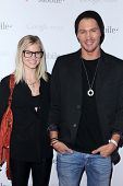 Chad Michael Murray at Google And T-Mobile Celebrate The Launch Of Google Music, Mr. Brainwash Studios, Los Angeles, CA 11-16-11
