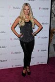 Erika Jayne at Google And T-Mobile Celebrate The Launch Of Google Music, Mr. Brainwash Studios, Los Angeles, CA 11-16-11