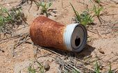 Old Rusty Beverage Can