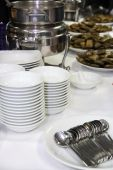 image of banquette  - photograph of food ware in buffet banquette - JPG