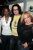 Thela Brown, Cody Jarrett, Kitten Natividad at the Signing Party for