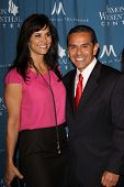 Lu Parker, Antonio Villaraigosa at the Simon Wiesenthal Center Annual National Tribute Dinner Honoring Tom Cruise, Four Seasons Hotel, Beverly Hills, CA 05-05-11
