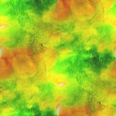 art yellow, green avant-garde hand paint background seamless wal