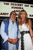 Matt Cimber and Laurene Landon at a rare screening of