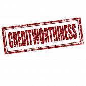 Creditworthiness-stamp