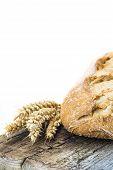 Wheat Bread On A Cuttig Board