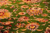 The Carpet In Sheikh Zayed Mosque Carpet. Abu Dhabi, United Arab Emirates