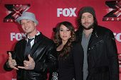 Chris Rene, Melanie Amaro and Josh Krajcik at