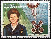 Valentina Tereshkova Stamp