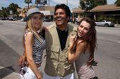 Paula Labaredas, Erik Estrada and Alicia Arden at the Eleanor Jean Haute Beauty Boutique Launch Party, Eleanor Jean Haute Beauty, Sherman Oaks, CA. 04-16-11