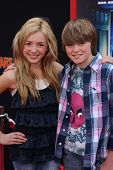 Peyton List and Spencer List at the