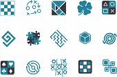 Jigsaw Icon Set