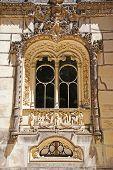 Manueline Style Window, Sintra, Portugal