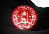 President Of Afghanistan Flag