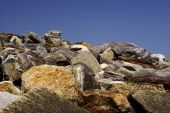 Rocks Against The Sky