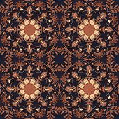 image of marquetry  - Abstract artistic pattern - JPG