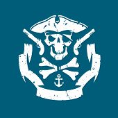 picture of pirate hat  - Pirates symbol - JPG