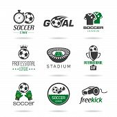 picture of offside  - Icons can be used in football related jobs - JPG