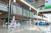 Bangkok, Thailand - May 22, 2014: International Arrivals Exit At Suvarnabhumi Airport In Bangkok ,th