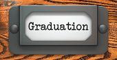 Graduation - Concept on Label Holder.