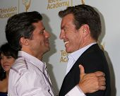 LOS ANGELES - JUN 19:  Greg Vaughn, Peter Bergman at the ATAS Daytime Emmy Nominees Reception at the