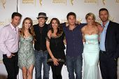 LOS ANGELES - JUN 19:  G Vaughn, Chrishell Stause, S Christian, Kristian Alfonso, Arianne Zucker, Er