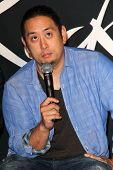 LOS ANGELES - JUN 18:  Joe Hahn at the Linkin Park Rockwalk Inducting Ceremony at the Guitar Center