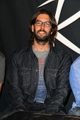 LOS ANGELES - JUN 18:  Rob Bourdon at the Linkin Park Rockwalk Inducting Ceremony at the Guitar Cent