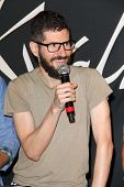 LOS ANGELES - JUN 18:  Brad Delson at the Linkin Park Rockwalk Inducting Ceremony at the Guitar Cent
