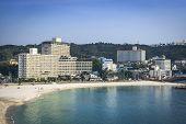 Shirahama, Japan beachfront resorts.