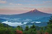 Mt Fuji in summer