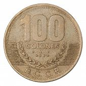 Costa Rican Colones Coin