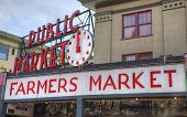 Famous Seattle Pike Place Farmer's Market