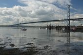 View of Forth Road Bridge