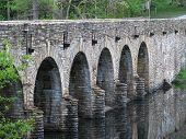 Bridge with dam
